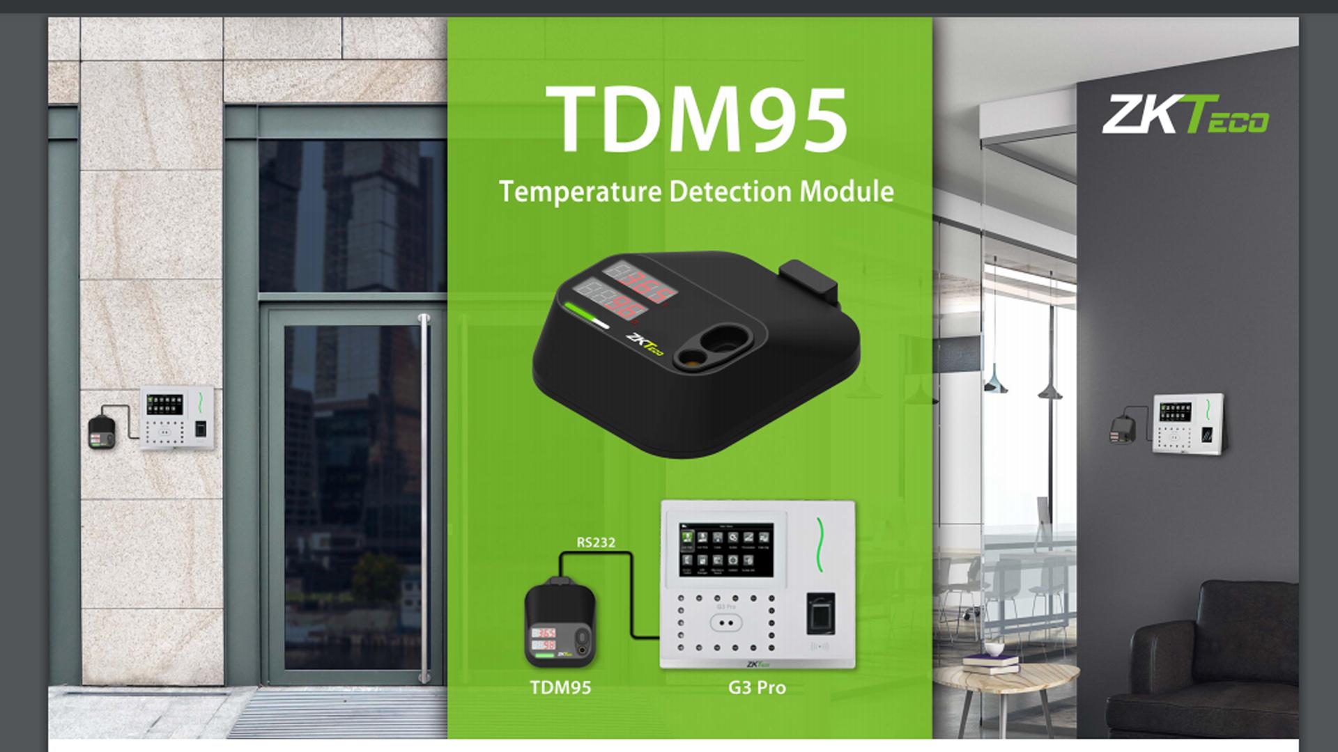 ZKTeco TDM95 USB Bağlantılı Ateş Ölçer